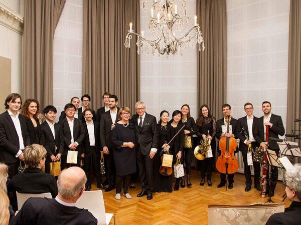 Es war der 4. Konzertabend und das 3. Konzert der Stipendiaten der Karajan Akademie im Palais Am Stadthaus.